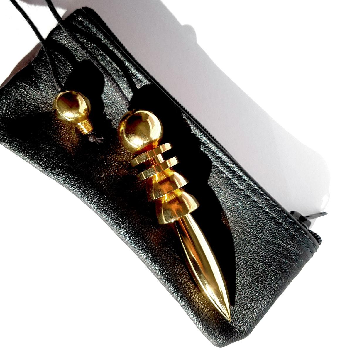 Hathor Gold Plated Pendulum