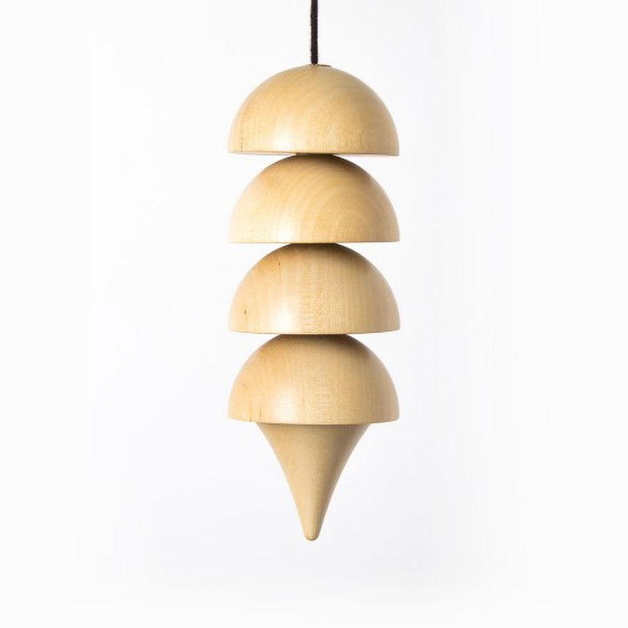 "Osiris ""White Energy"" Macro Hardwood Pendulum"